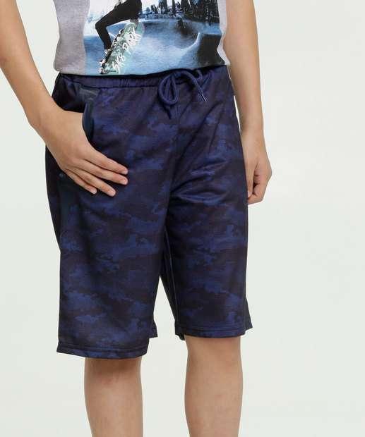 Image_Bermuda Juvenil Moletinho Estampa Camuflada MR
