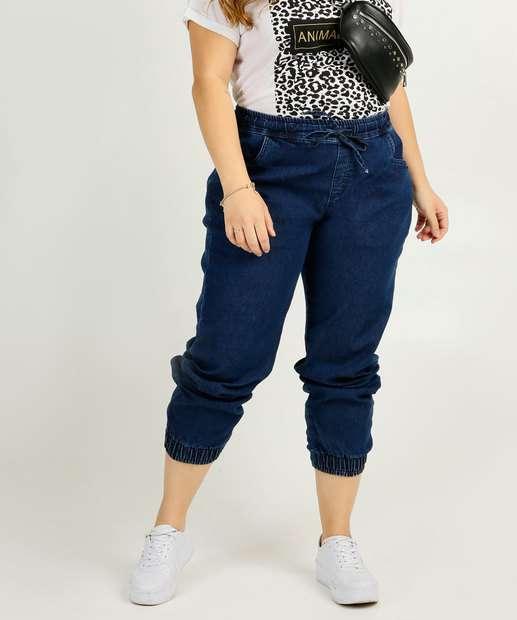 Image_Calça Plus Size Feminina Jogger Uber Jeans