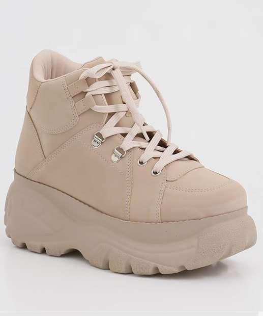 Image_Tênis Feminino Chunky Sneaker Cano Alto Zatz