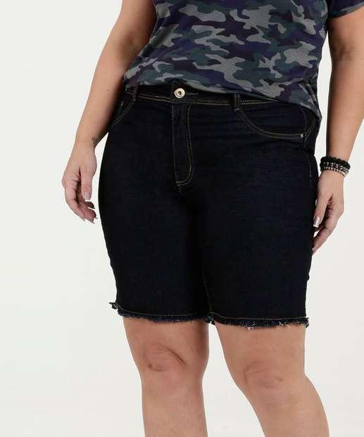 Image_Bermuda Feminina Jeans Stretch Plus Size Biotipo