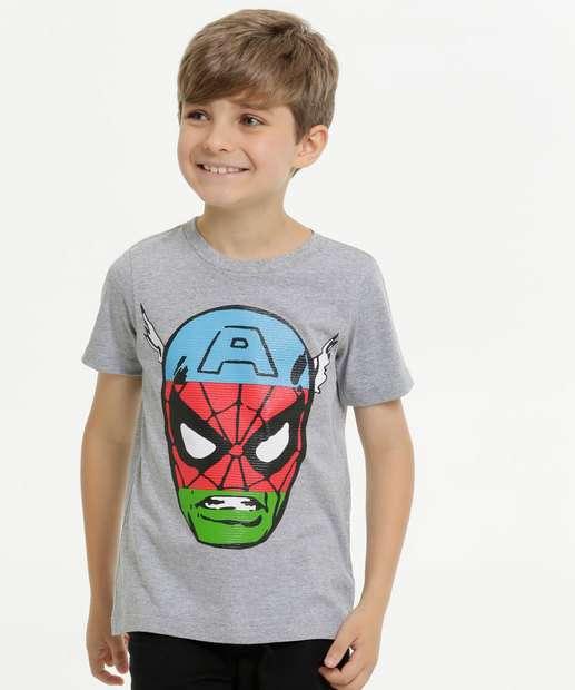 Image_Camiseta Infantil Vingadores Manga Curta Marvel