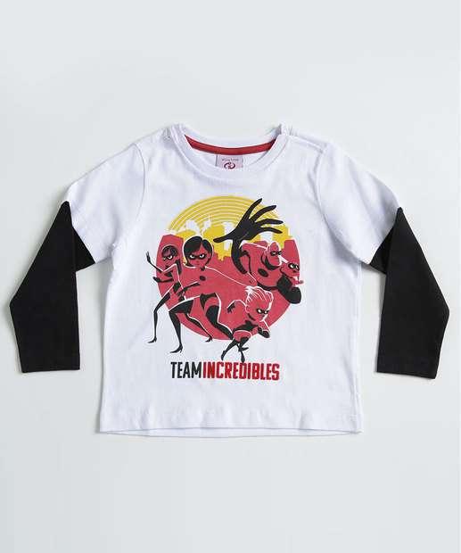 Image_Camiseta Infantil Estampa Os Incríveis Manga Longa Disney