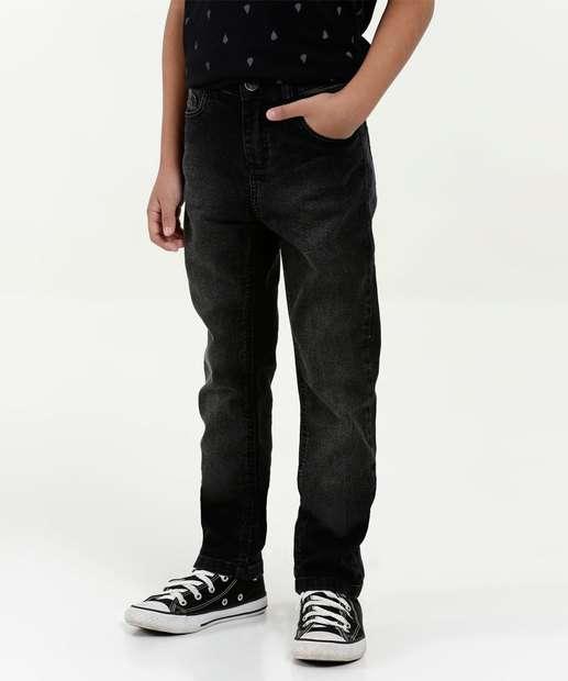 586799d4c5e Calça Infantil Jeans Stretch MR