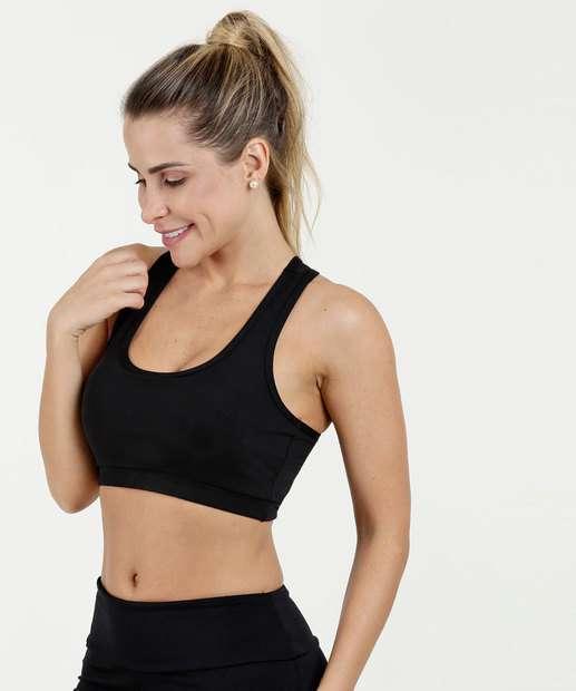 594a73404 Top Feminino Fitness Nadador Marisa