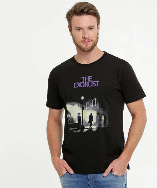 Image_Camiseta Masculina Estampa O Exorcista Warner Bros