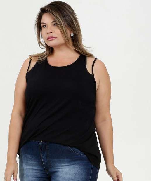 Image_Regata Feminina Recorte Tule Plus Size