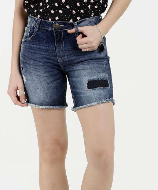 Image_Bermuda Feminina Jeans Rasgos Marisa