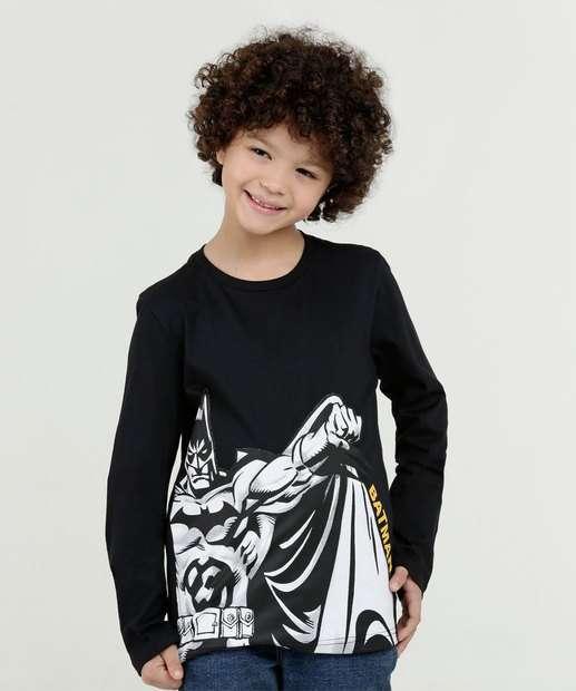 Image_Camiseta Infantil Estampa Frontal Manga Longa Marisa