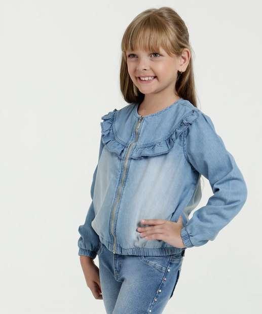 Image_Jaqueta Infantil Jeans Babado Marisa