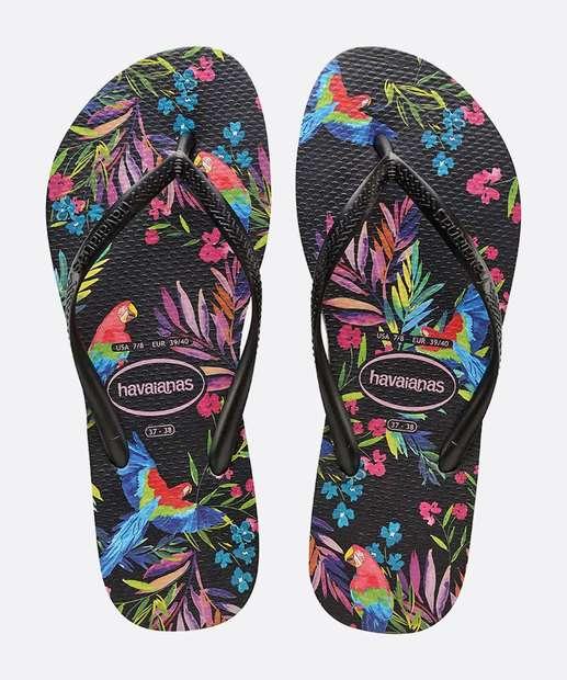 Image_Chinelo Havaianas Feminino Slim Tropical Floral