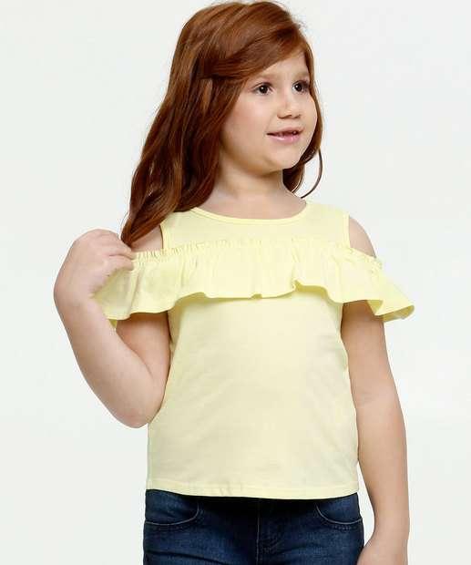 Image_Blusa Infantil Open Shoulder Babado Marisa