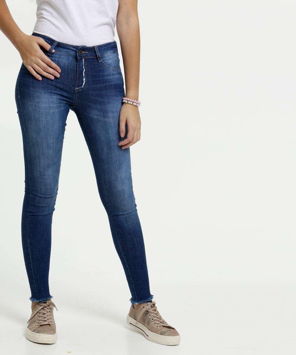 Calça Juvenil Jeans Skinny Sawary By Larissa Manoela