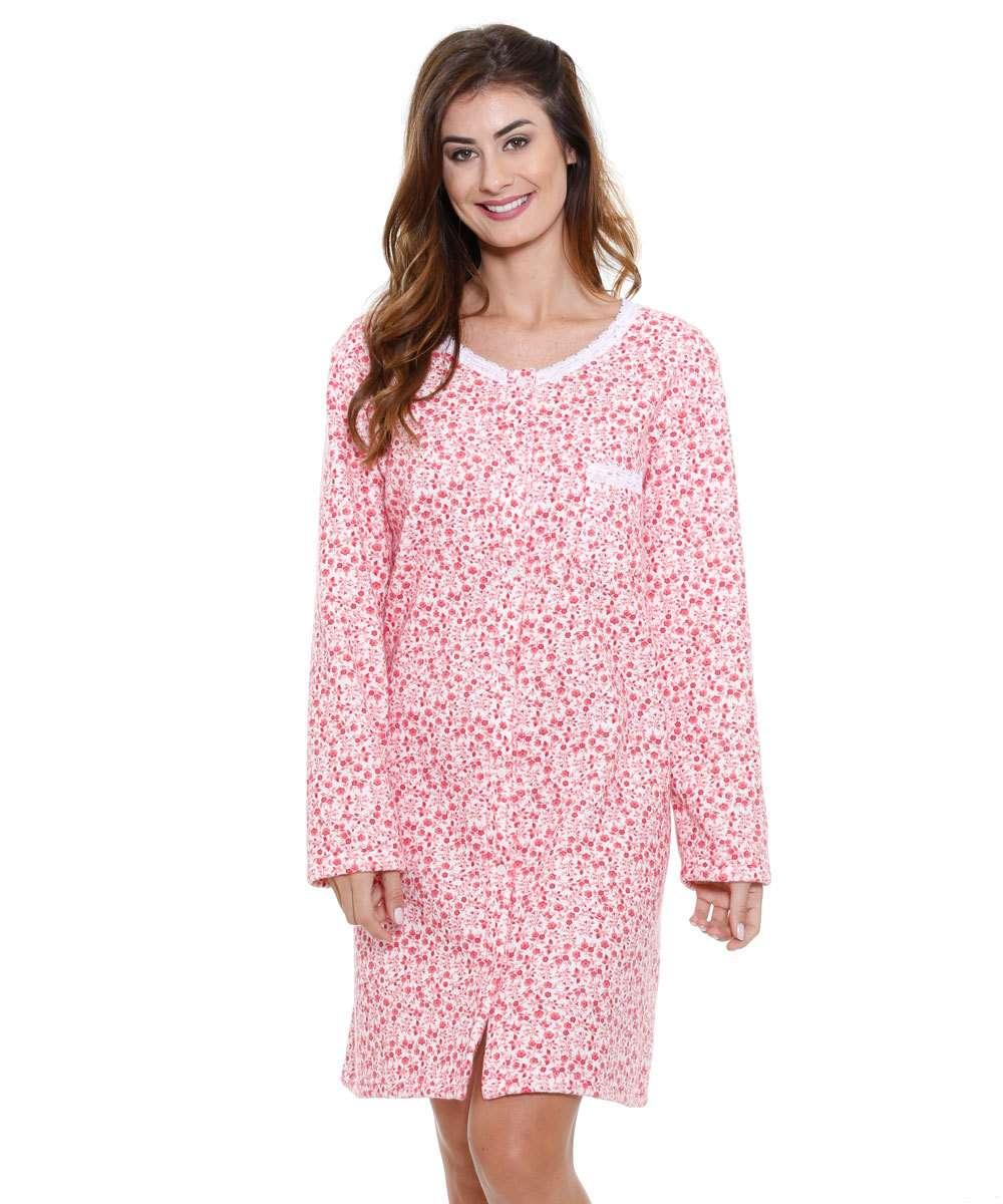 4f7007ab4f 1  2  3  4  5. Compartilhar. adicionar aos favoritos produto favoritado.  48% OFF. Camisola feminina floral manga longa Marisa