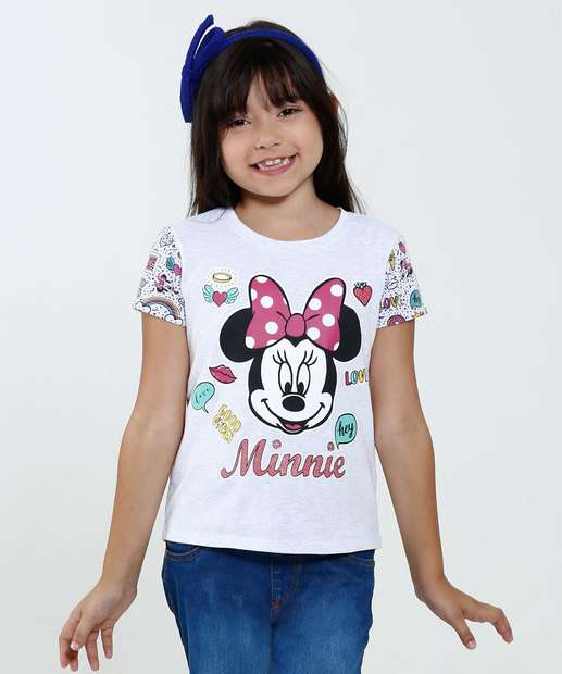 Image_Blusa Infantil Estampa Minnie Disney