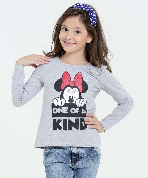 Image_Blusa Infantil Minnie Manga Longa Disney