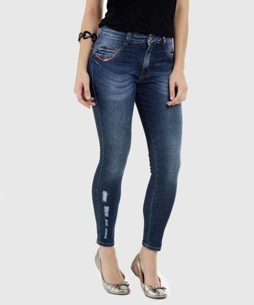 Image_Calça Feminina Jeans Skinny Puídos Biotipo