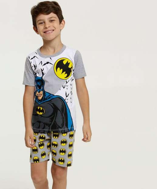 Image_Pijama Infantil Brinde Estampa Batman Liga Da Justiça