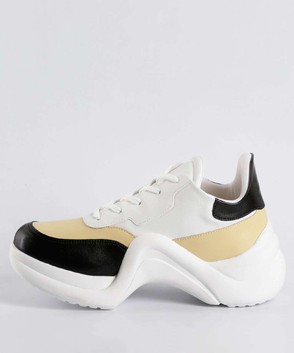 42fb2d8d98c Tênis Feminino Chunky Sneaker Via Uno 374001SEAVV