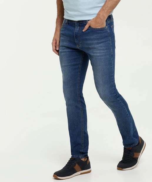 Image_Calça Slim Masculina Jeans MR