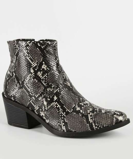 Image_Bota Feminina Country Cano Curto Animal Print Quiz