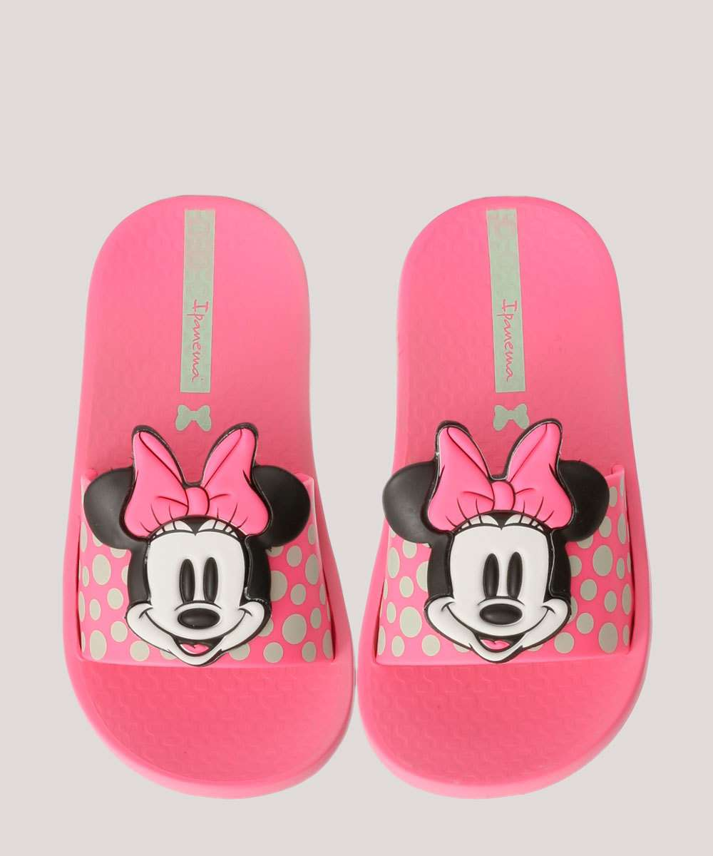 Chinelo Ipanema Infantil Estampa Minnie