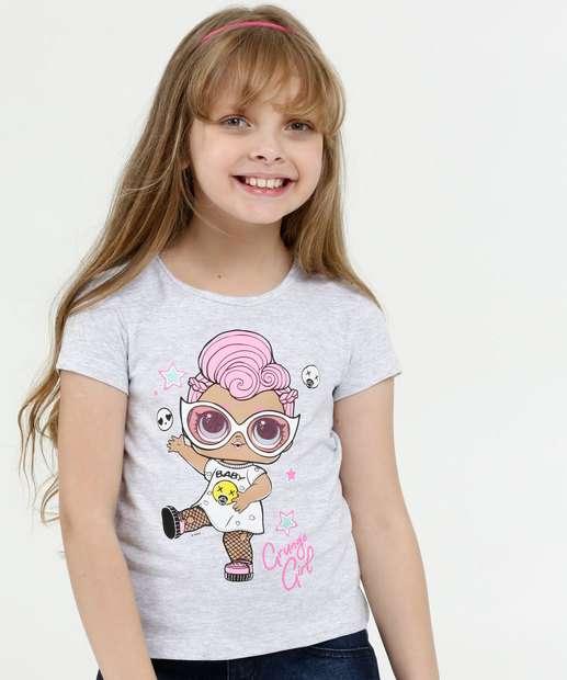 Image_Blusa Infantil Estampa Boneca Manga Curta Lol