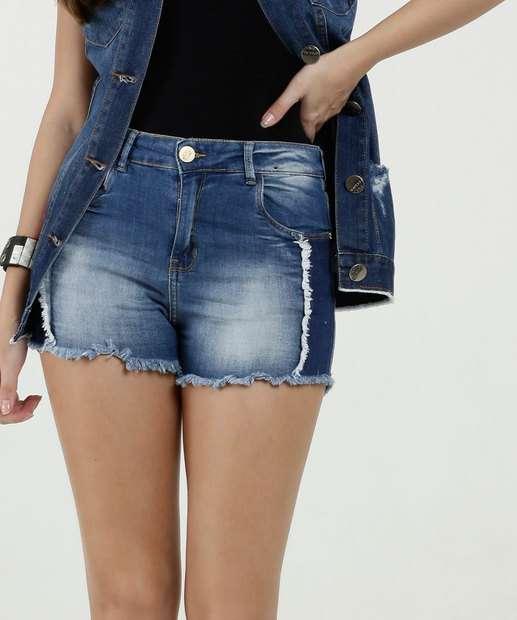 Image_Short Feminino Desfiado Zune Jeans By Sabrina Sato