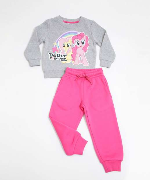 Image_Conjunto Infantil Moletom Estampa My Little Pony Hasbro