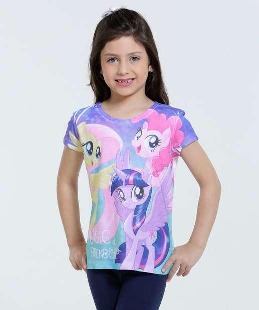 Image_Blusa Infantil My Little Pony Movie Hasbro
