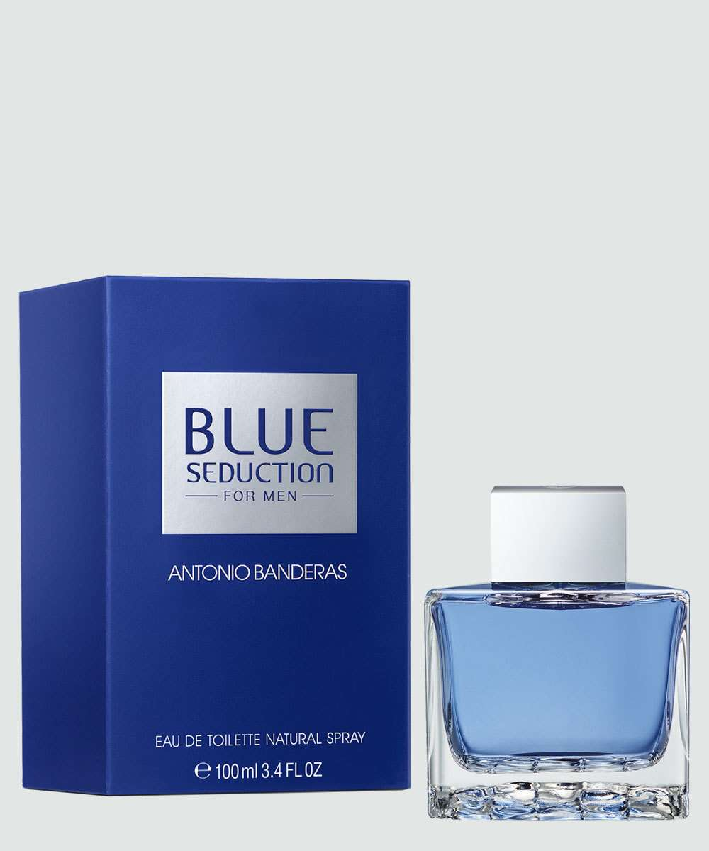 Perfume Masculino Antonio Banderas Blue Seduction - Eau de Toilette - 100ml