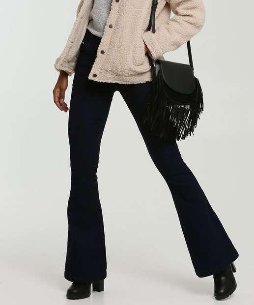 Image_Calça Flare Stretch Feminina Zune Jeans By Sabrina Sato