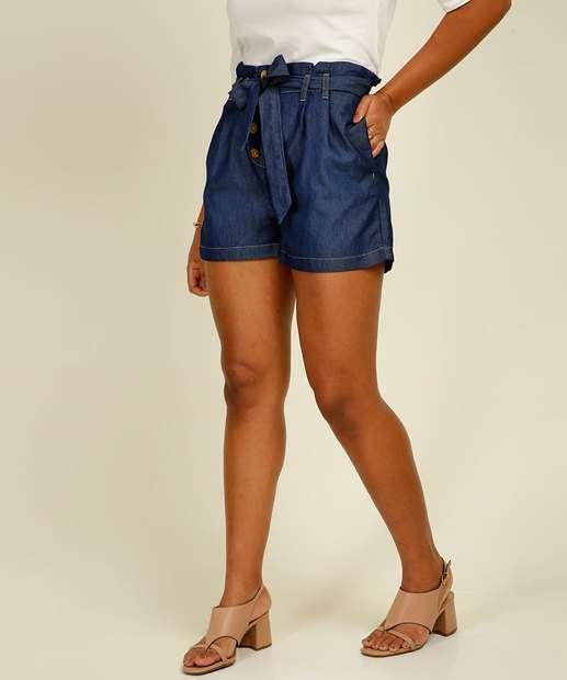 Image_Short Jeans Feminino Cintura Alta Clochard