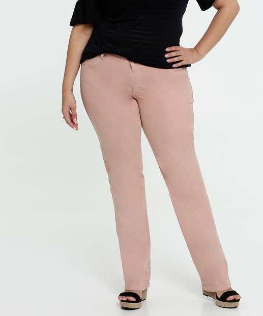 Image_Calça Feminina Sarja Skinny Plus Size