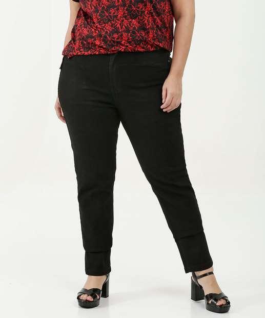 Image_Calça Feminina Skinny Stretch Plus Size Uber Jeans