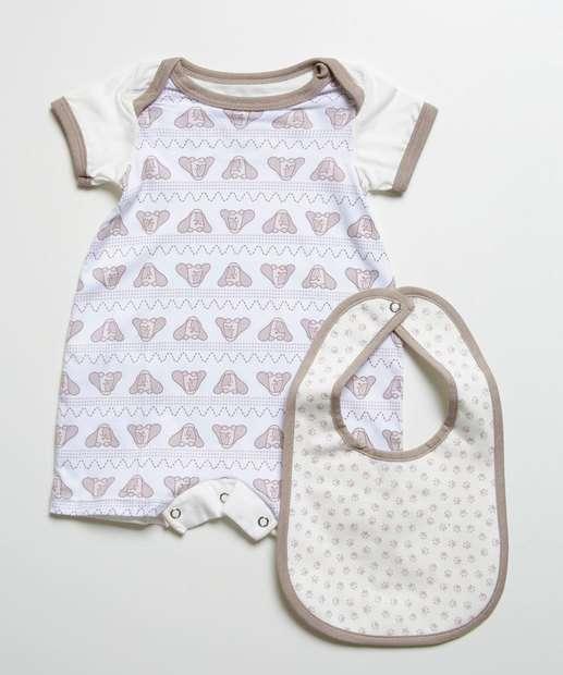 Image_Kit 2 Peças Infantil Bebê Eco Sustentável DelRio
